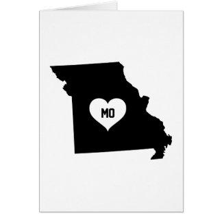 Cartão Amor de Missouri