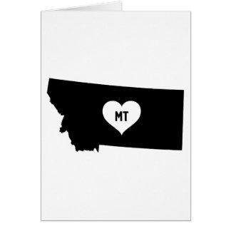 Cartão Amor de Montana