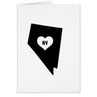 Cartão Amor de Nevada