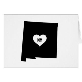 Cartão Amor de New mexico