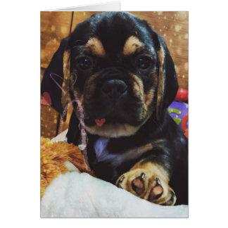 Cartão Amor de Puggle