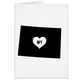 Cartão Amor de Wyoming