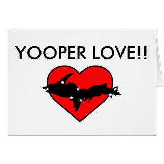 Cartão Amor de Yooper!