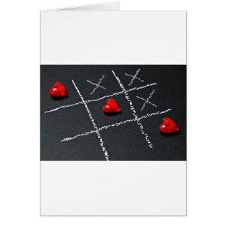 Cartão Amor desafiado