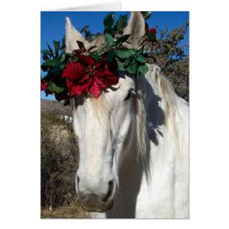 Cartão Amor do cavalo