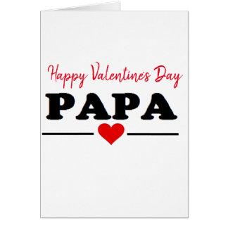Cartão Amor do coração da papá do feliz dia dos namorados