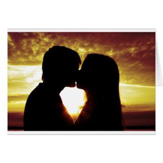 Cartão Amor e verão