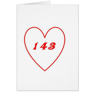 Cartão Amor, eu te amo
