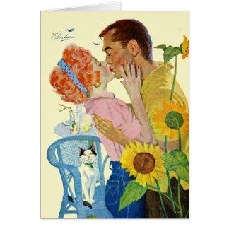 Cartão Amor-Golpeado