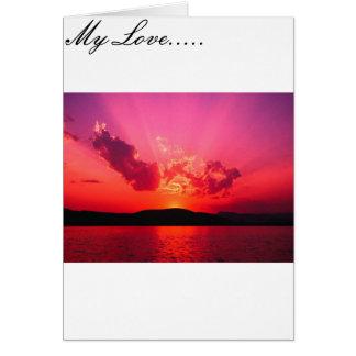 Cartão Amor infinito