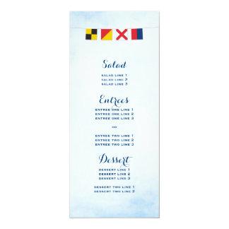 Cartão AMOR no azul náutico colorido da nuvem das