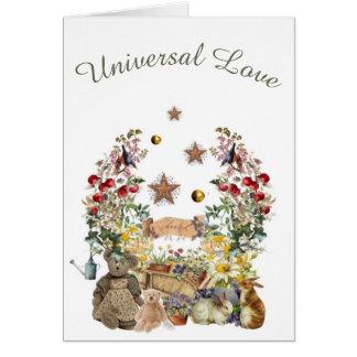 Cartão Amor universal