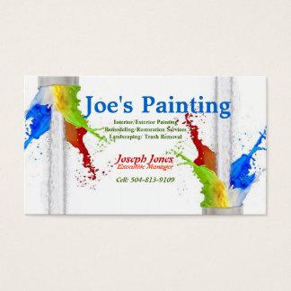 Cartão-Amostra do negócio (séries de pintura Cartão De Visitas