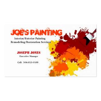 Cartão-Amostra II do negócio da pintura Cartão De Visita