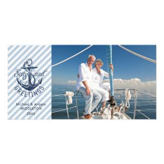 """Cartão Âncora dos """"do marinho náutico mares E dos"""