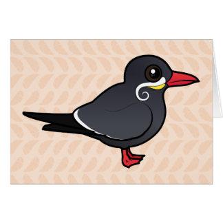 Cartão Andorinha-do-mar do Inca de Birdorable