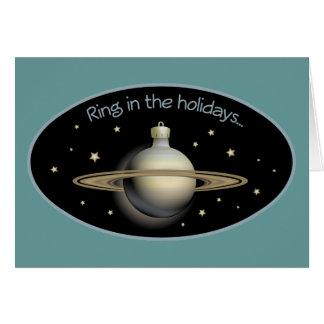 Cartão Anel nos feriados