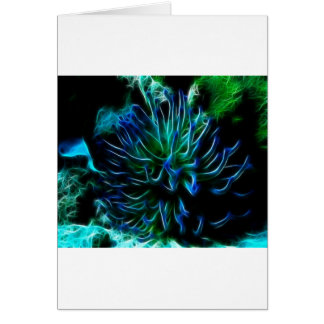 Cartão anêmona de mar gigante