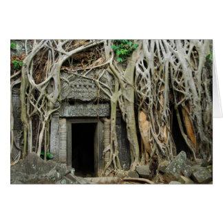 Cartão angkor dos templos