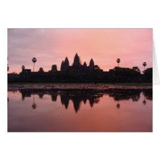 Cartão Angkor Wat
