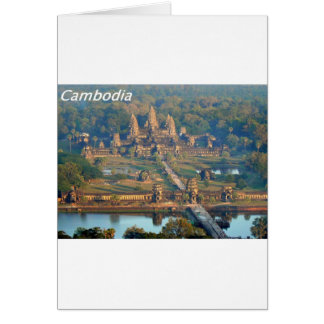 Cartão - Angkor-WAT-Angie.