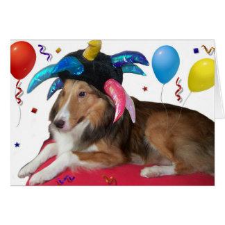 Cartão Animal de partido