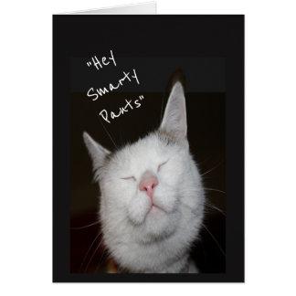 Cartão Animal do gatinho do humor da promoção dos
