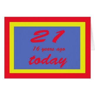 Cartão aniversário 37