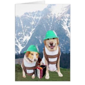 Cartão Aniversário alemão customizável para o sobrinho ou