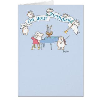 Cartão Aniversário BARROCO do GOPHER
