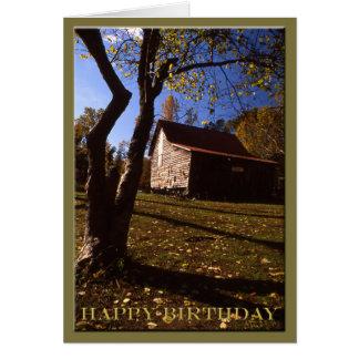 Cartão Aniversário - celeiro velho nenhuns de Virgínia 10