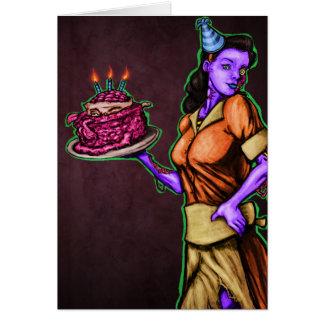 Cartão Aniversário contaminado
