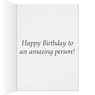 Cartão Aniversário cor-de-rosa de Coneflower
