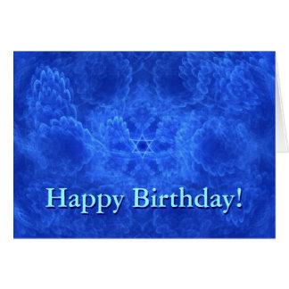 Cartão Aniversário da serenidade