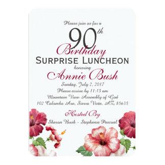Cartão Aniversário da surpresa