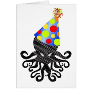 Cartão Aniversário de Cthulhu