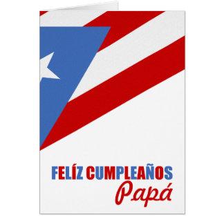 Cartão Aniversário de Puerto Rico