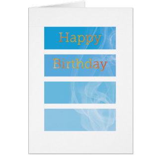 Cartão Aniversário de Smokey - departamento dos bombeiros