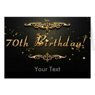 Cartão aniversário do 70!