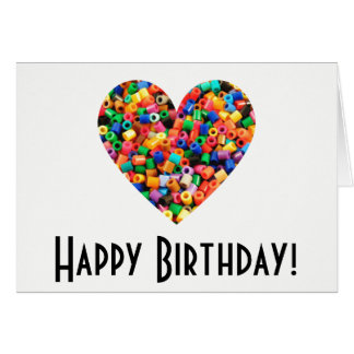 Cartão Aniversário do amante do grânulo
