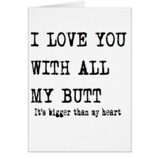 Cartão aniversário do namorado eu te amo com todo meu