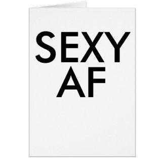 """Cartão Aniversário engraçado af """"sexy"""" bestselling"""