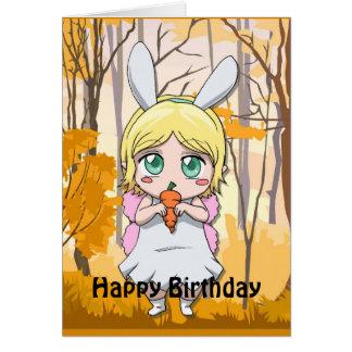 Cartão Aniversário feericamente - compartilhe de minha