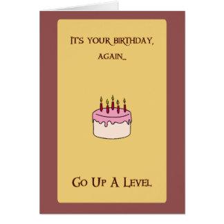 Cartão Aniversário feliz de Munchkin!