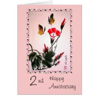 Cartão Aniversário feliz ò