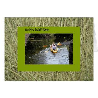 Cartão Aniversário, Kayakers superiores
