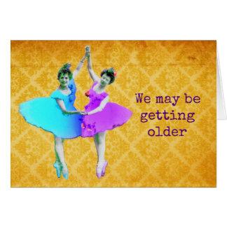 Cartão Aniversário para alguém mais idoso