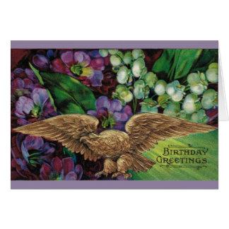 Cartão Aniversário: Suba como Eagle!