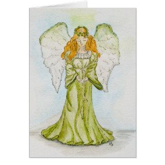 Cartão - anjo