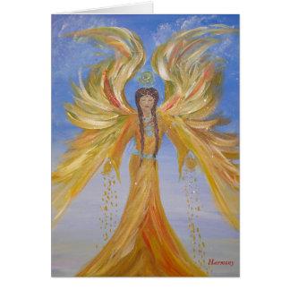 Cartão Anjo abençoado dos Seraphim